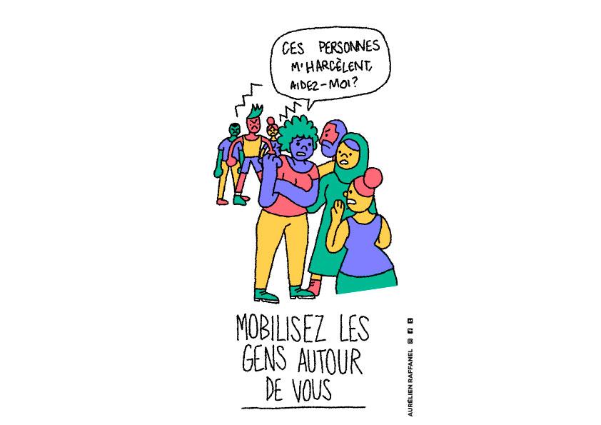 Victime d'harcèlement de rue : mobiliser