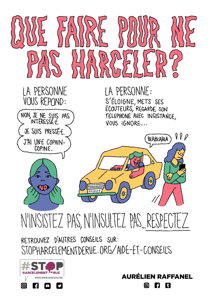 Affiche Que Faire Pour Ne Pas Harceler Thumbnail Stop