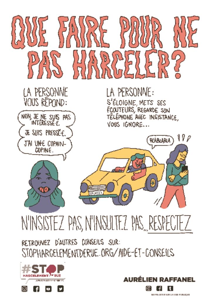 thumbnail of flyer que faire pour ne pas harceler